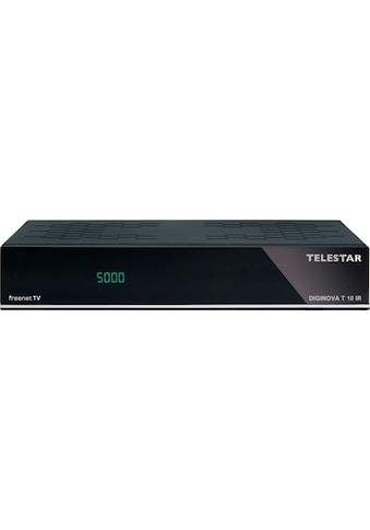TELESTAR DVB-T2 Receiver »DIGINOVA T 10 IR«, ( Kindersicherung-Elektronische Programmzeitschrift-Videotext-Videotextuntertitel-Internetradio-Call-Monitor) kaufen