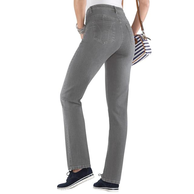Classic Basics Jeans mit Knack-Po-Effekt