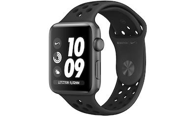 Apple Nike+ Series 3 GPS, Aluminiumgehäuse mit Nike Sportarmband 38mm Watch (Watch OS 5) kaufen