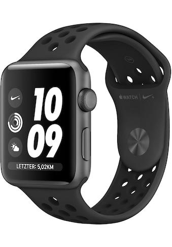 Apple Nike+ Series 3 GPS, Aluminiumgehäuse mit Nike Sportamband 38mm Watch (Watch OS 5) kaufen