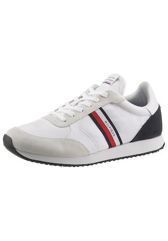 Tommy Hilfiger Sneaker »RUNNER LO MIX STRIPES«, mit seitlichen Tommy-Streifen kaufen