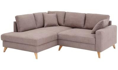 Home affaire Ecksofa »Stanza Luxus«, besonders hohe Belastbarkeit pro Sitzplatz: 140... kaufen