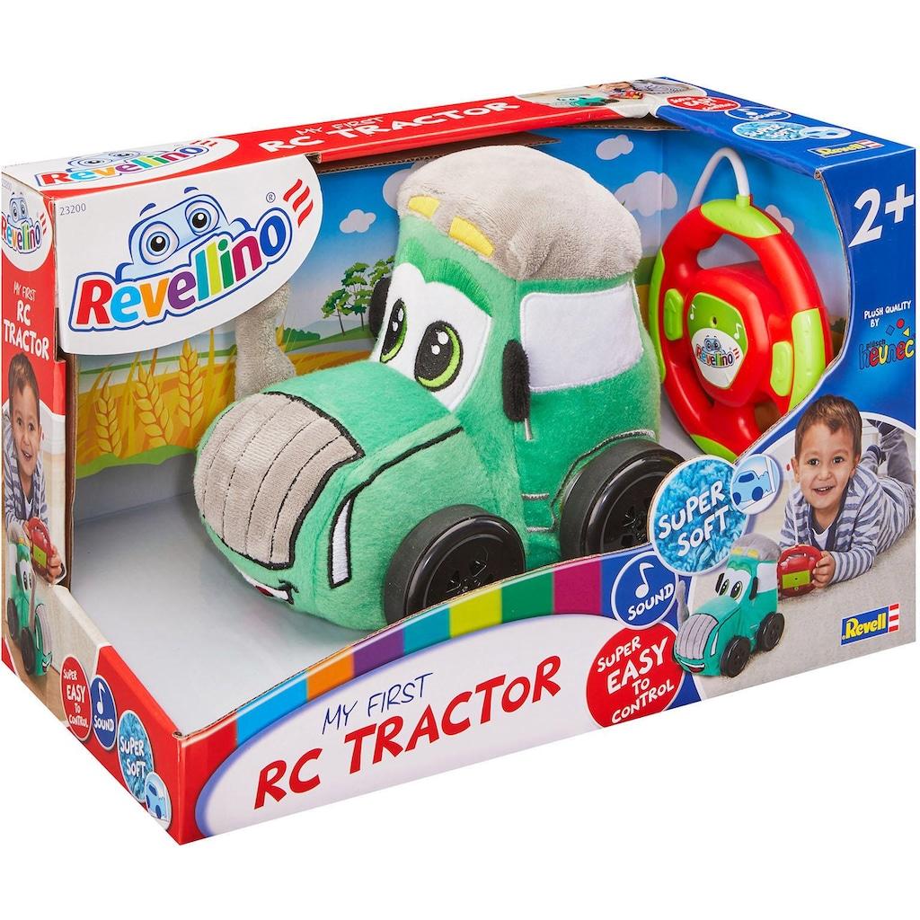 Revell® RC-Traktor »Revellino, Mein erster RC Traktor, 27 MHz«, aus Plüsch