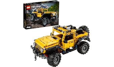 LEGO® Konstruktionsspielsteine »Jeep® Wrangler (42122), LEGO® Technic«, (665 St.),... kaufen