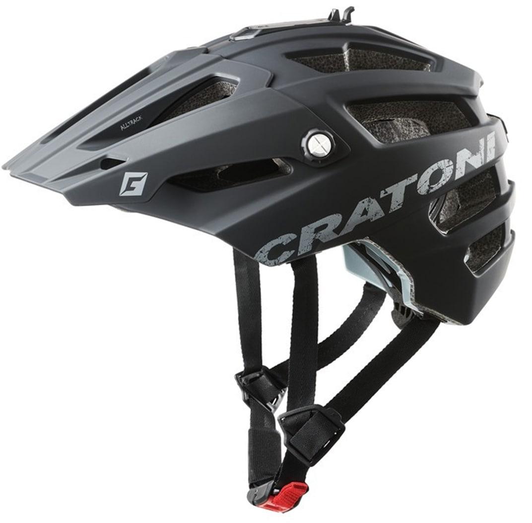 Cratoni Mountainbikehelm MTB-Fahrradhelm AllTrack schwarz Fahrradzubehör Fahrräder Zubehör Helm