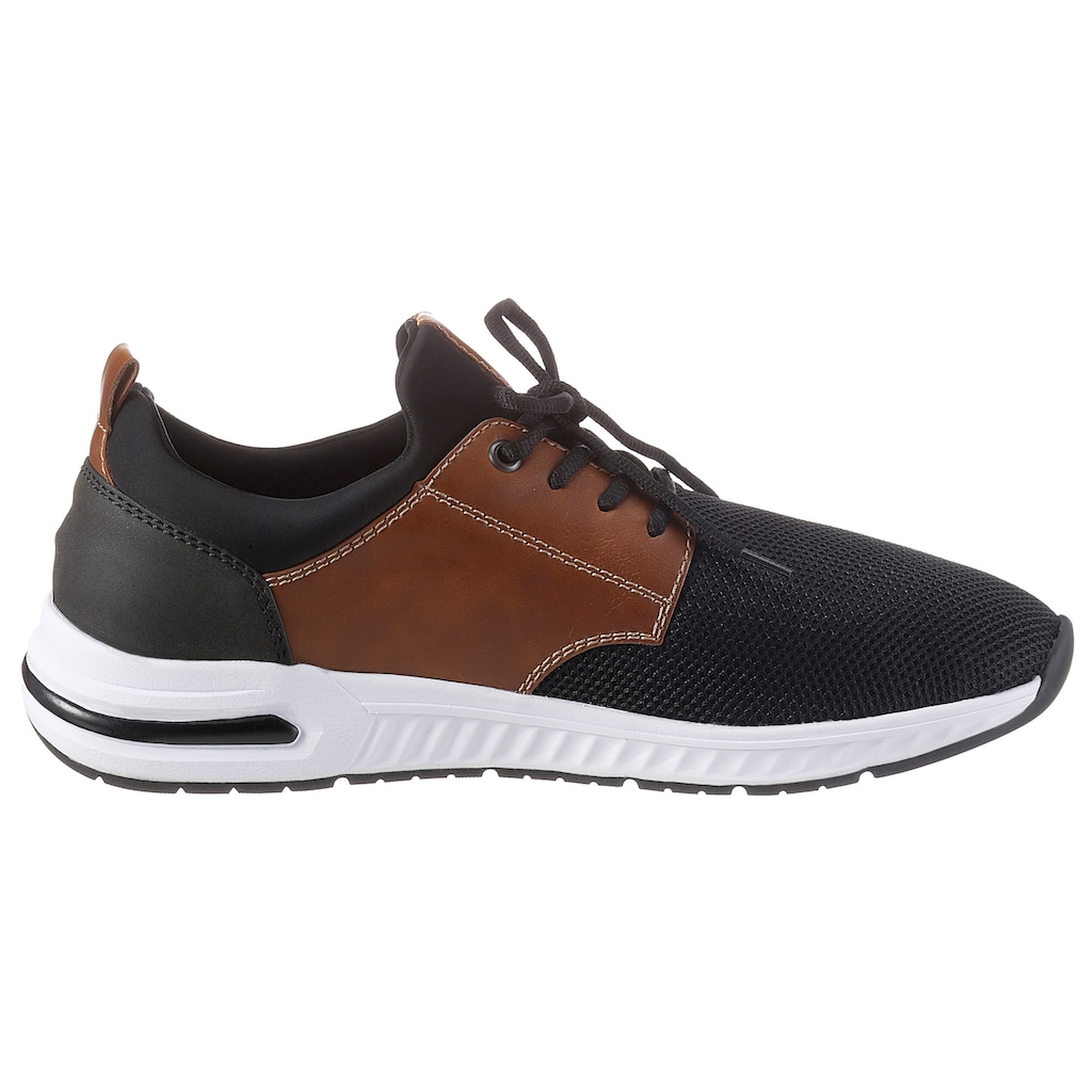 Rieker Sneaker, mit kontrastfarbenen Besätzen