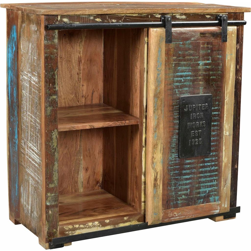 SIT Kommode »Jupiter«, aus recyceltem Altholz, Breite 77, Shabby Chic, Vintage