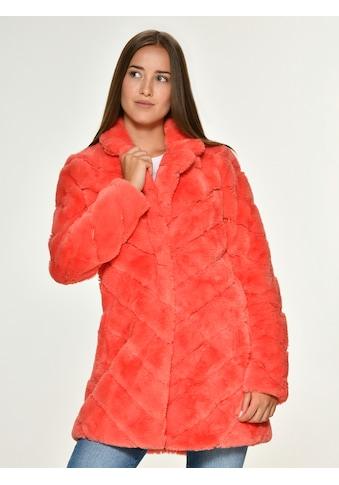 Maze knallige Fake Fur Jacke kaufen