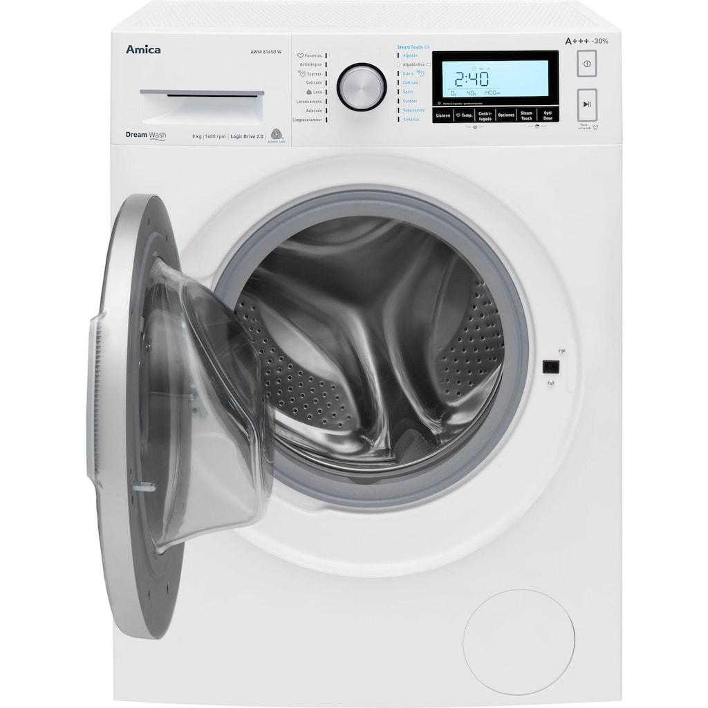 Amica Waschmaschine »WA 484 111 W«, WA 484 111 W