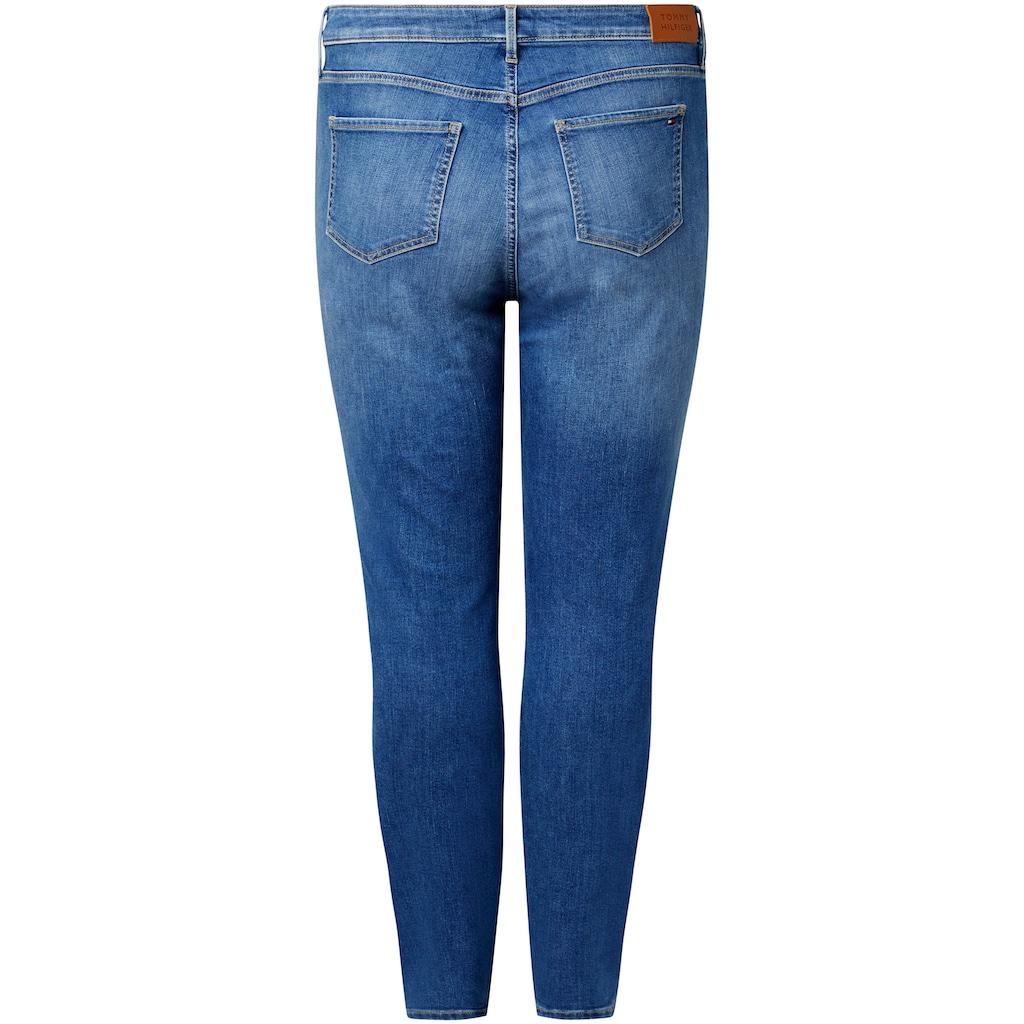 Tommy Hilfiger Curve Skinny-fit-Jeans »CRV FLEX HARLEM U SKINNY HW IZZA«, mit Tommy Hilfiger Curve Logo-Badge