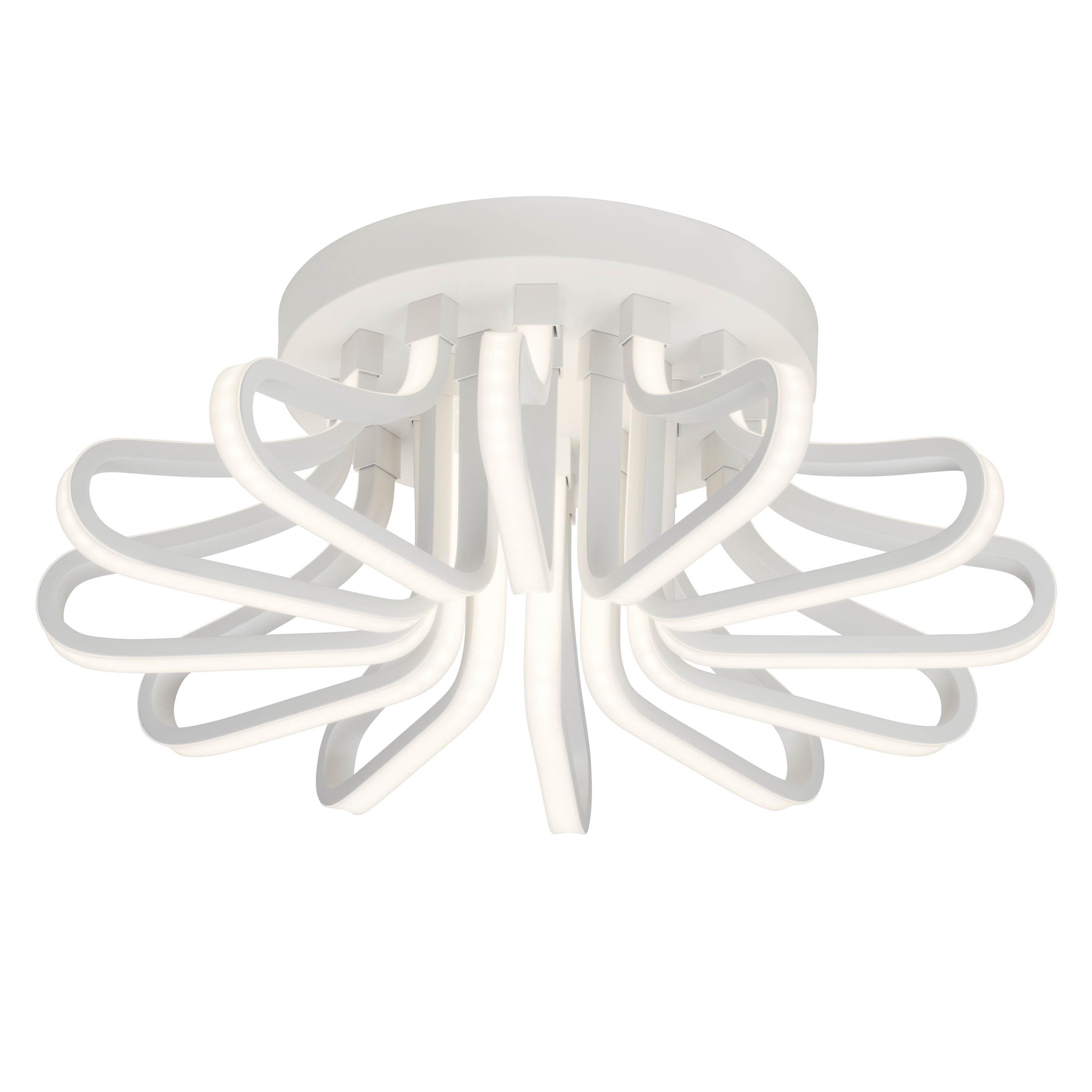 AEG Tressa LED Deckenleuchte 55cm weiß