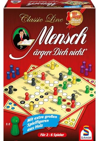 Schmidt Spiele Spiel »Classic Line, Mensch ärgere Dich nicht®«, mit großen Spielfiguren, Made in Germany kaufen