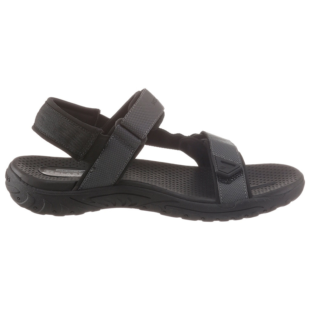 Skechers Sandale, mit praktischen Klettverschlüssen
