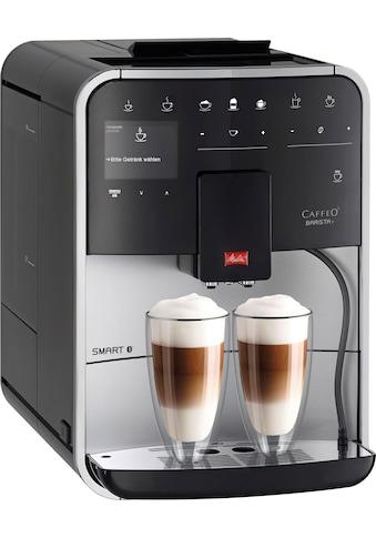 Melitta Kaffeevollautomat Melitta® CAFFEO Barista T Smart® F83/1 - 101, silberfarben, 1,8l Tank, Kegelmahlwerk kaufen