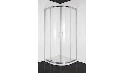 Runddusche »Elite Chrom«, mit zwei Schiebetüren, BxT: 80 x 80 cm kaufen
