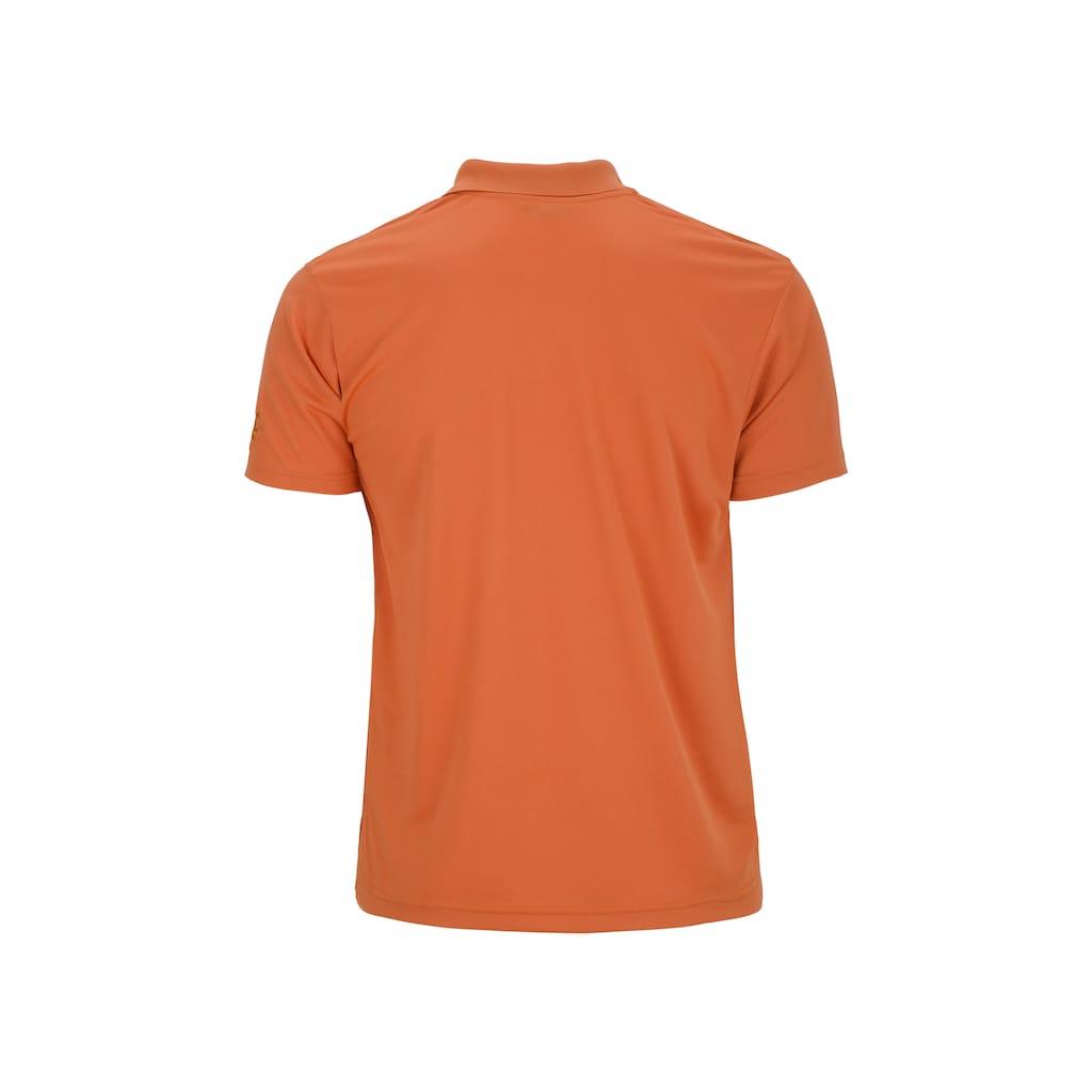 AHORN SPORTSWEAR Funktions-Poloshirt mit stilvoller Logostickerei