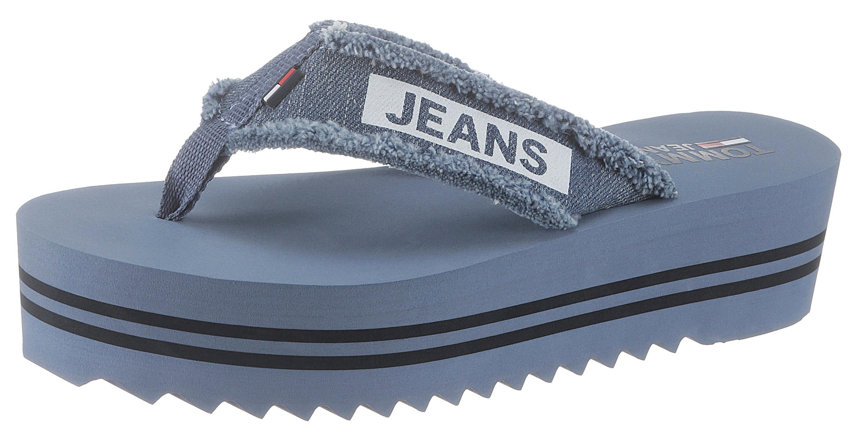 TOMMY JEANS Zehentrenner Harbour | Schuhe > Sandalen & Zehentrenner > Zehentrenner | Blau | Tommy Jeans