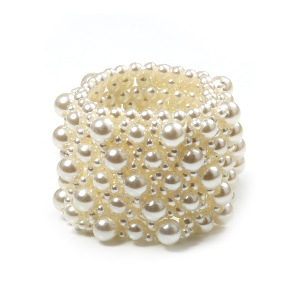 J.Jayz Armband »feminin und glamourös«, mit Acrylperlen