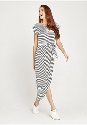 Apricot Midikleid »Multistripe Wrap Skirt Midi Dress«, (mit Bindegürtel), Rock in... kaufen