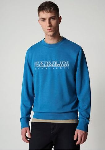 Napapijri Sweatshirt, mit großem Logofrontprint kaufen