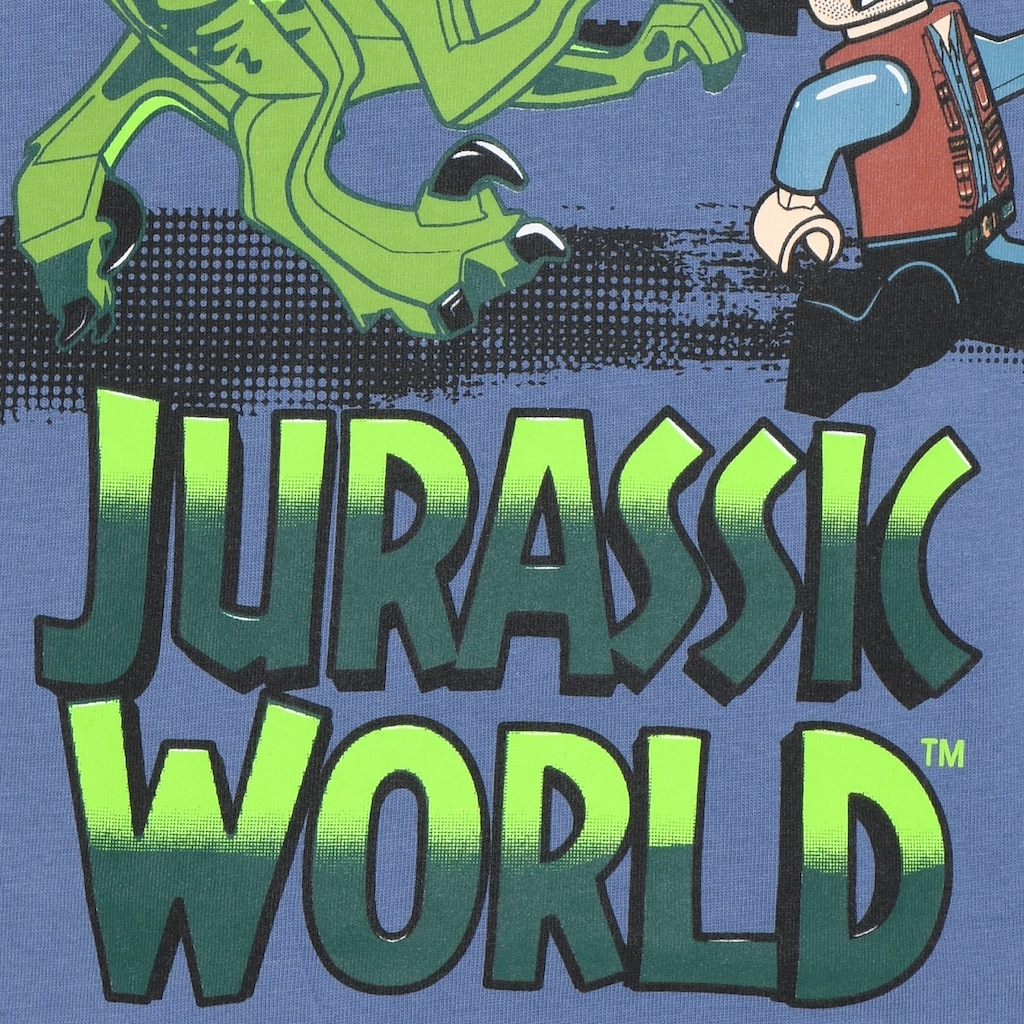 """LEGO® Wear Langarmshirt »M-22662«, """"Druck mit dem Velociraptor Dinosaurier und Owen Grady"""""""