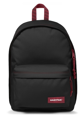 Eastpak Laptoprucksack »OUT OF OFFICE blackout stripe red« kaufen