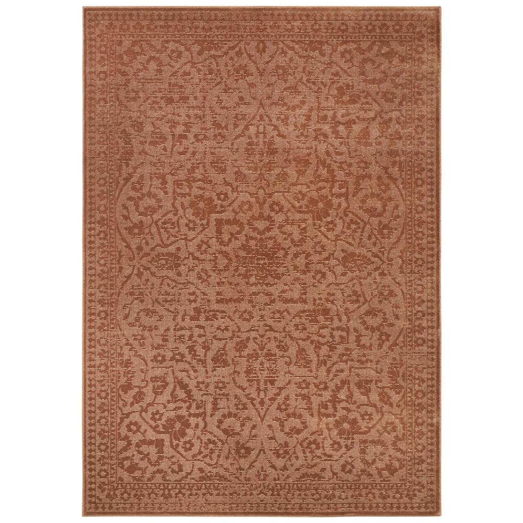 ELLE Decor Teppich »Blavet«, rechteckig, 6 mm Höhe, Viskose, Wohnzimmer