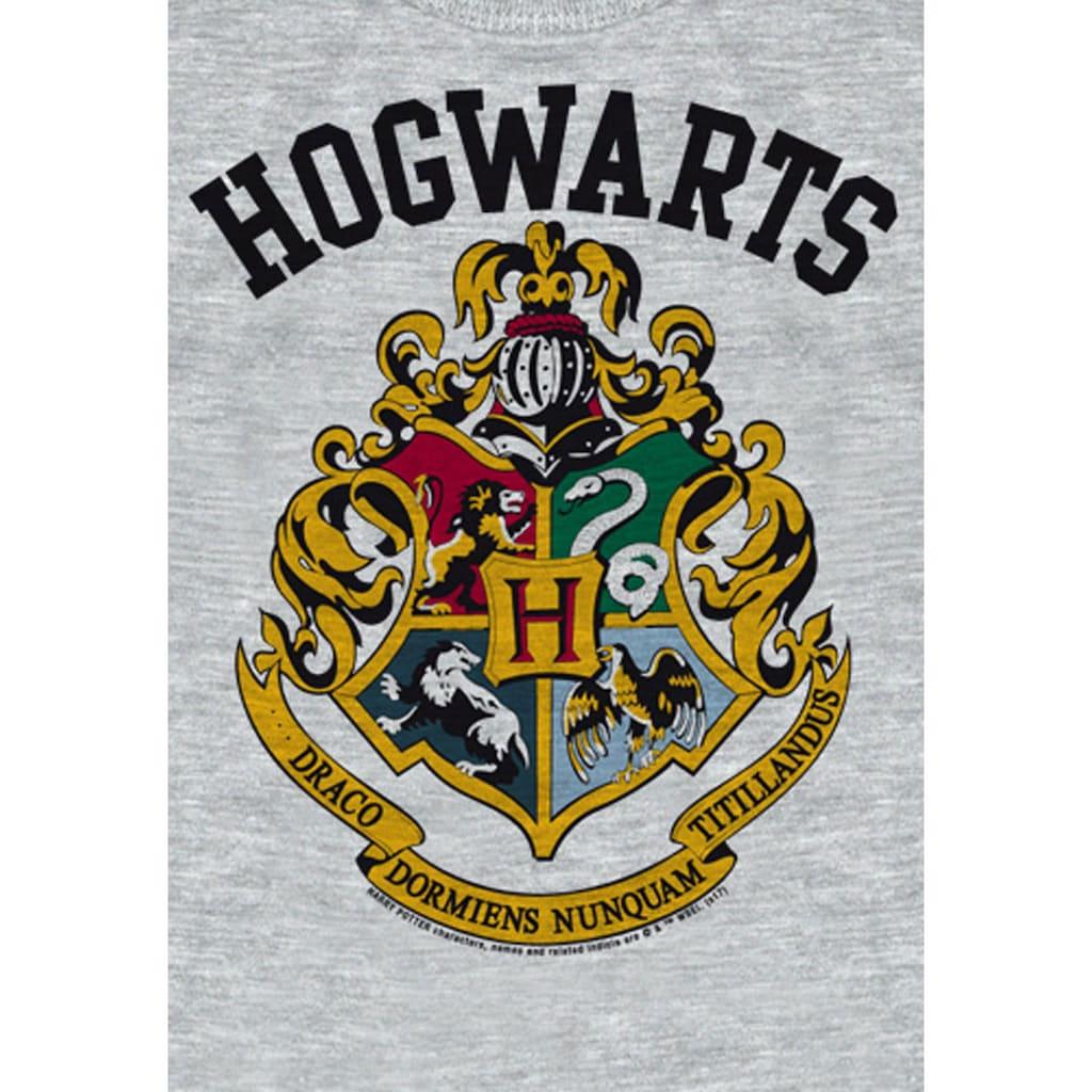 LOGOSHIRT Print-Shirt »Hogwarts«, mit detailliertem Print