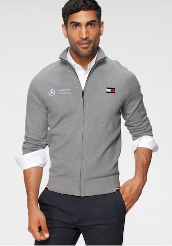 TOMMY HILFIGER X Mercedes - Benz Cardigan »1 MB ENGINEERED ZIP THROUGH« kaufen