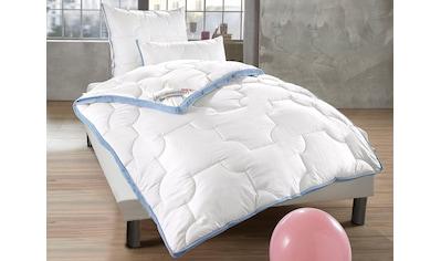 fan Schlafkomfort Exklusiv Microfaserbettdecke + Kunstfaserkissen »Climacontrol®... kaufen