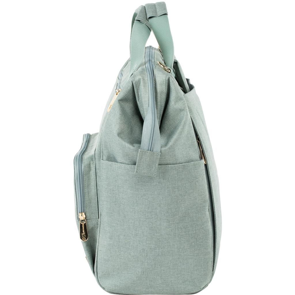 Lässig Wickelrucksack »Glam Goldie, Backpack mint«