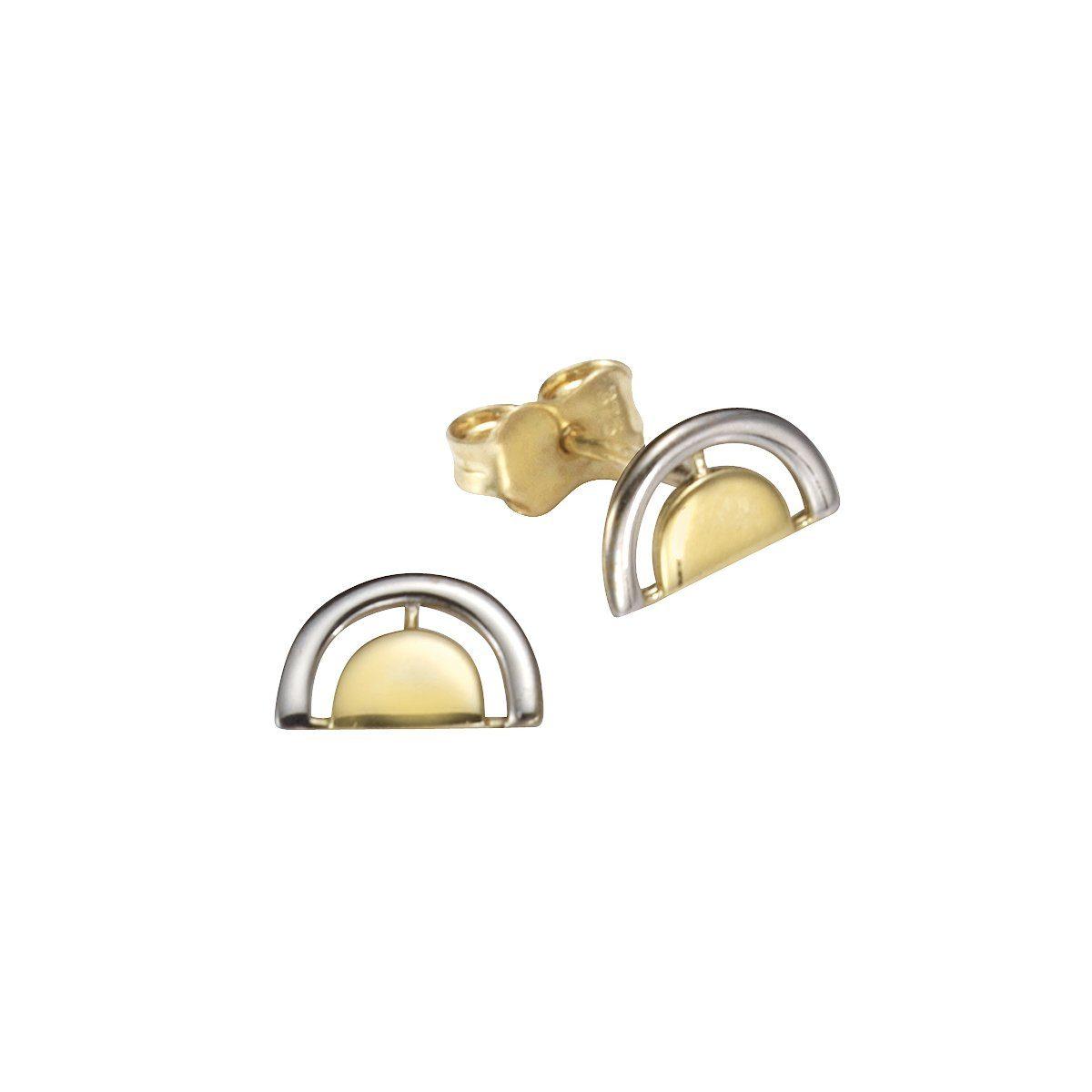 Vivance Ohrstecker 375/- Gold bicolor   Schmuck > Ohrschmuck & Ohrringe > Ohrstecker   Bunt   Vivance