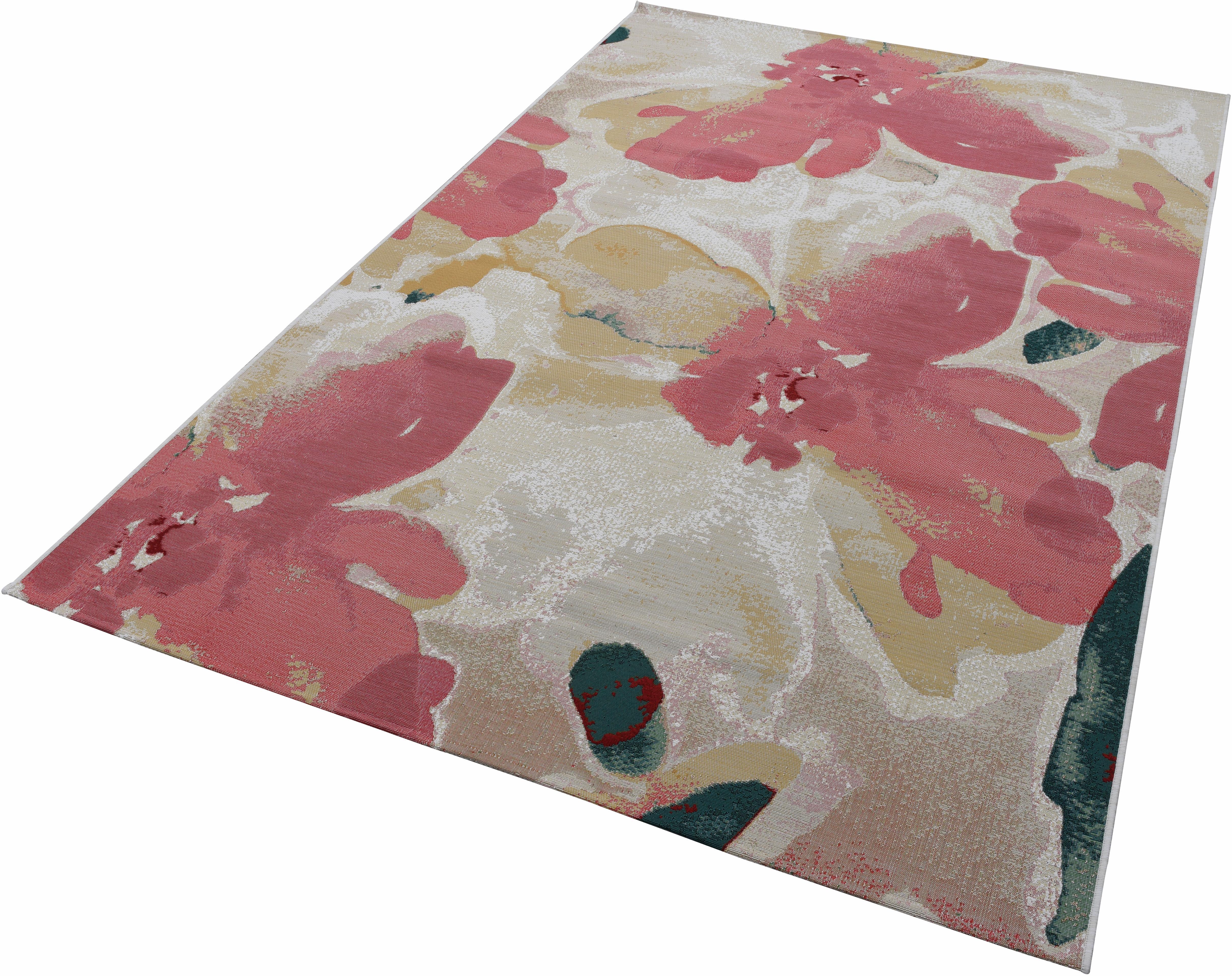 Teppich Garden Blossom TOM TAILOR rechteckig Höhe 30 mm maschinell gewebt