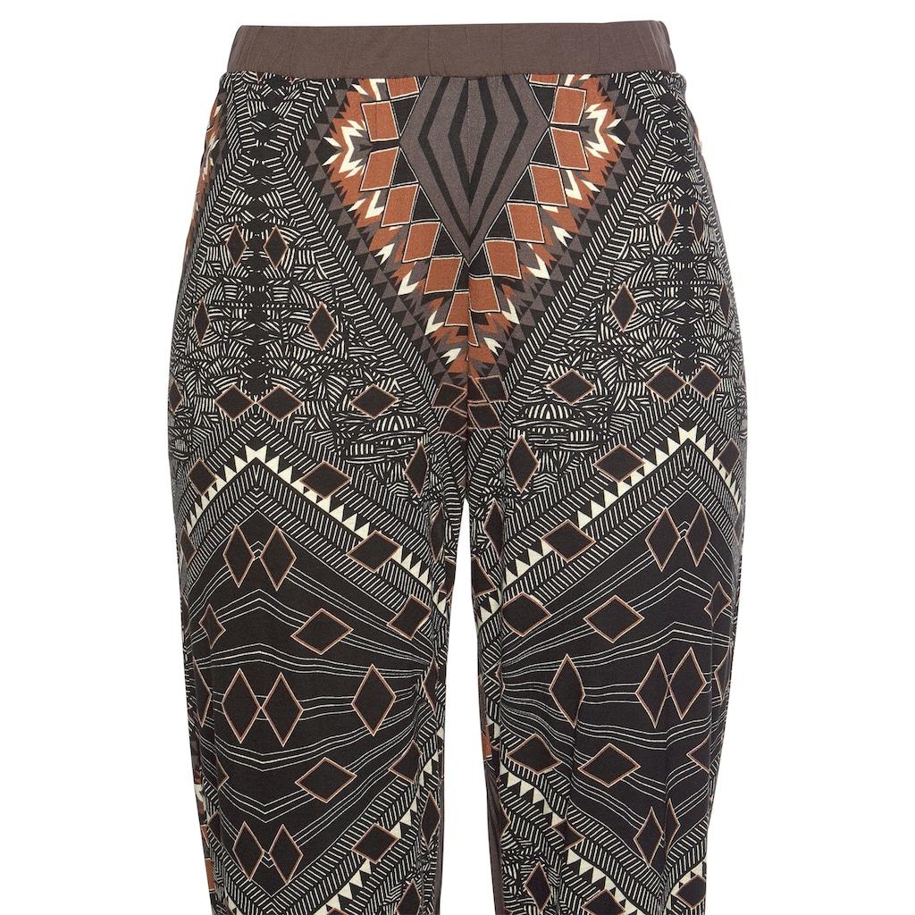 LASCANA Pyjama, im Ethno-Design