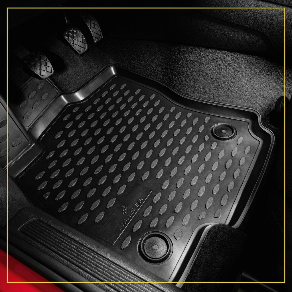 WALSER Passform-Fußmatten »XTR«, (4 St.), für Toyota Land Cruiser (J15) Bj 07/2009 - Heute