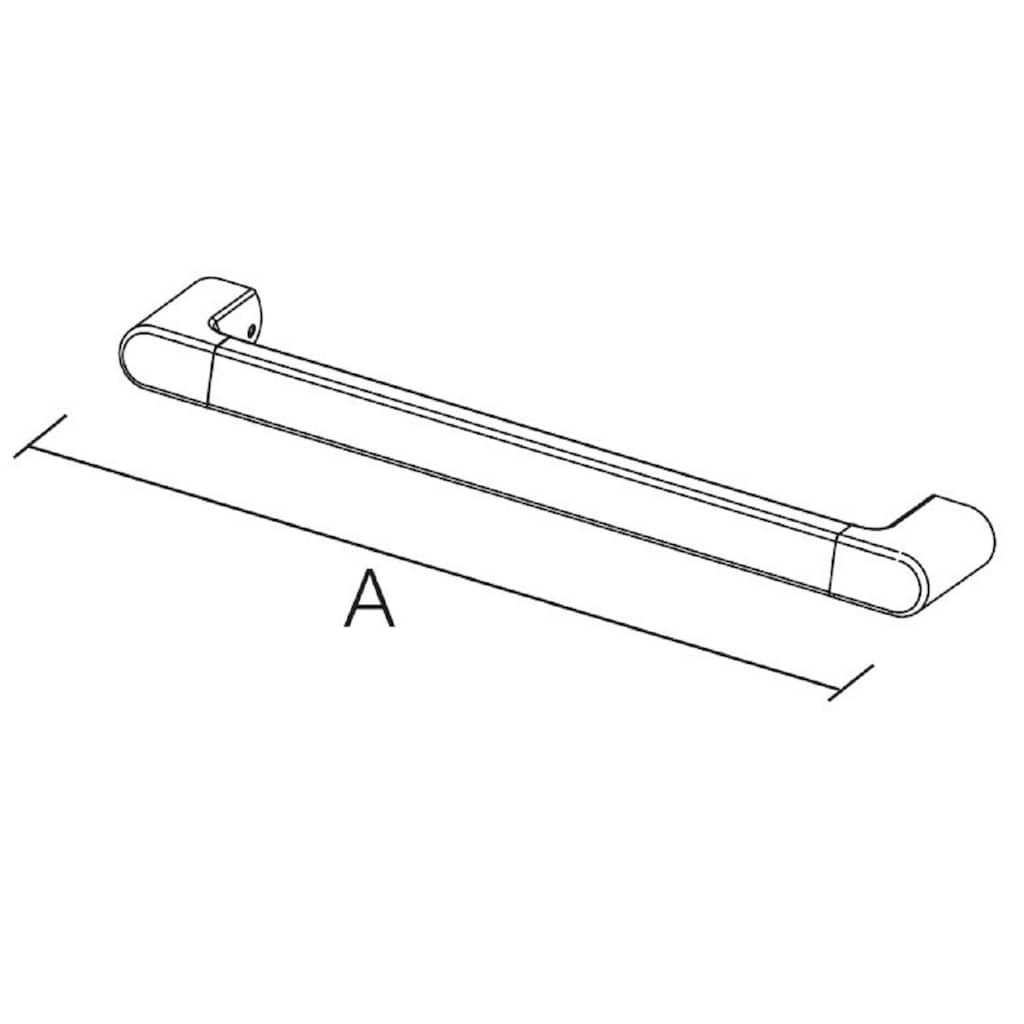 Provex Badewannengriff »Serie 500«, belastbar bis 130 kg, für Bad und Dusche, 80 cm Länge