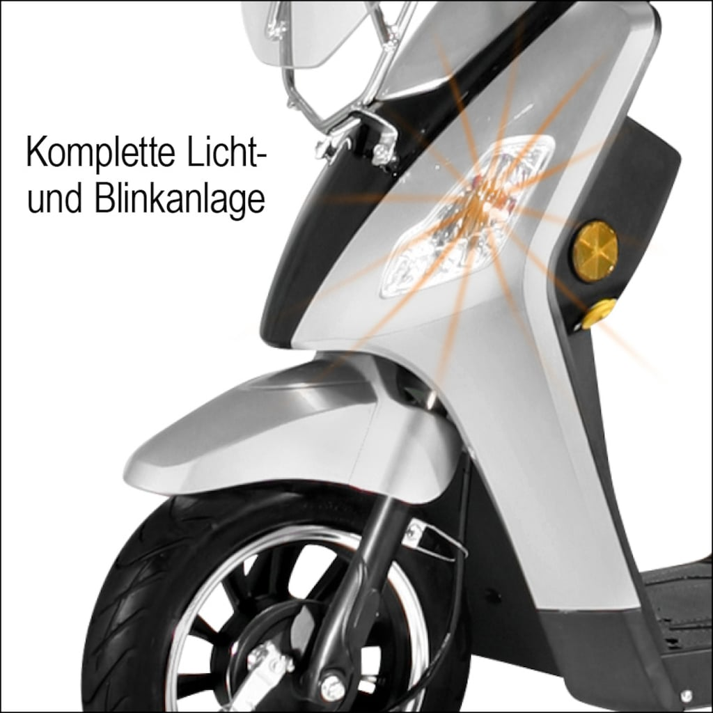 "Didi THURAU Edition Elektromobil »Dreirad-E-Mobil ""Bologna"" - 25 km/h«, 1000 W, 25 km/h, (mit Topcase)"