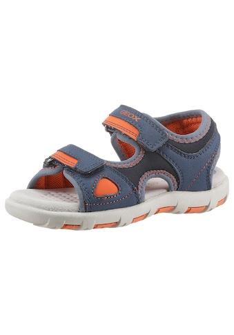 Geox Kids Sandale »PIANETA«, mit praktischen Klettverschlüssen kaufen