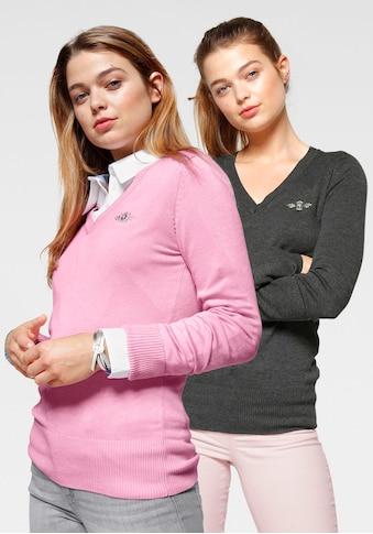 TOM TAILOR Polo Team V - Ausschnitt - Pullover (Packung, 2er - Pack) kaufen