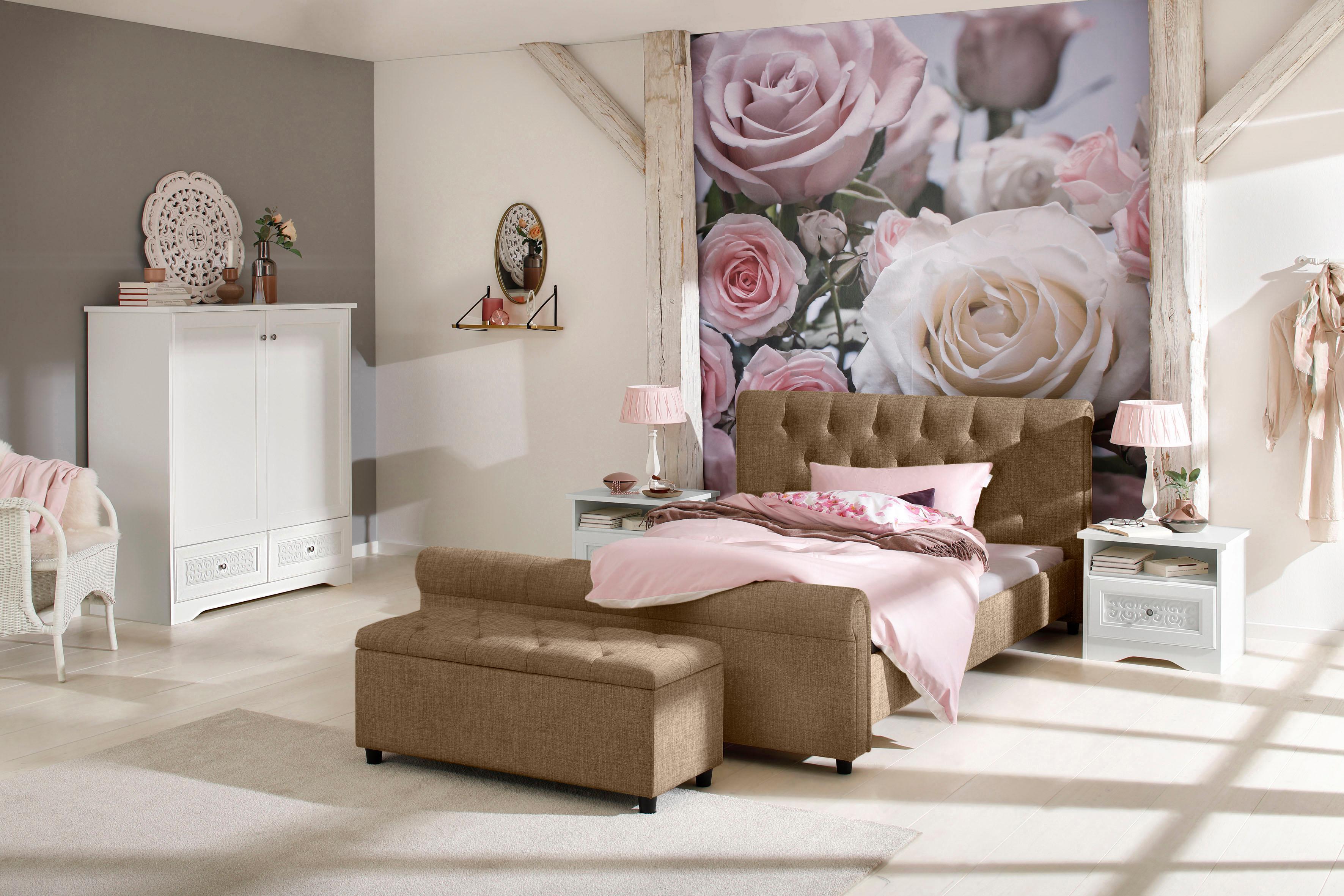 Home affaire Polsterbett »Goronna« in 5 verschiedenen Farben und 4 Breiten