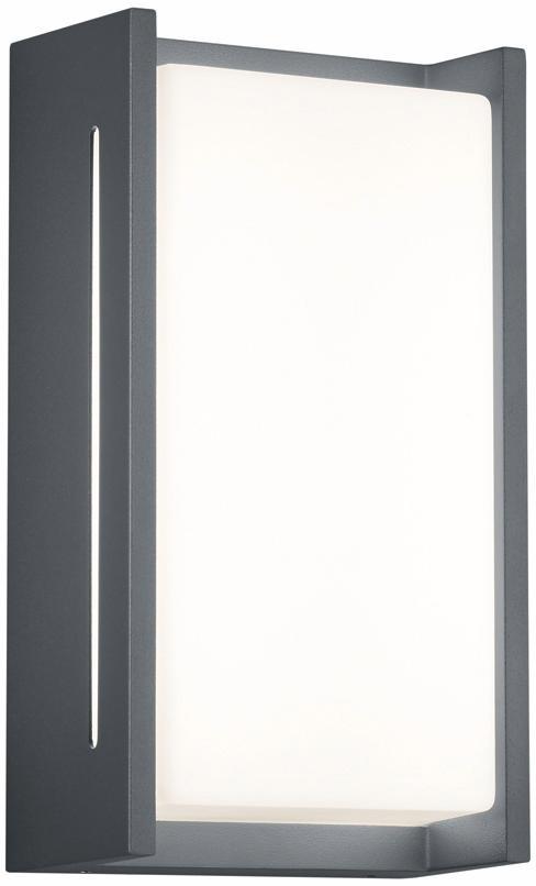 TRIO Leuchten LED Außen-Wandleuchte INDUS, LED-Board, Warmweiß