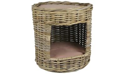 SILVIO design Tierbett »Katzenturm Nala«, Katzenhöhle mit Liegefläche, ØxH: 39x39 cm kaufen