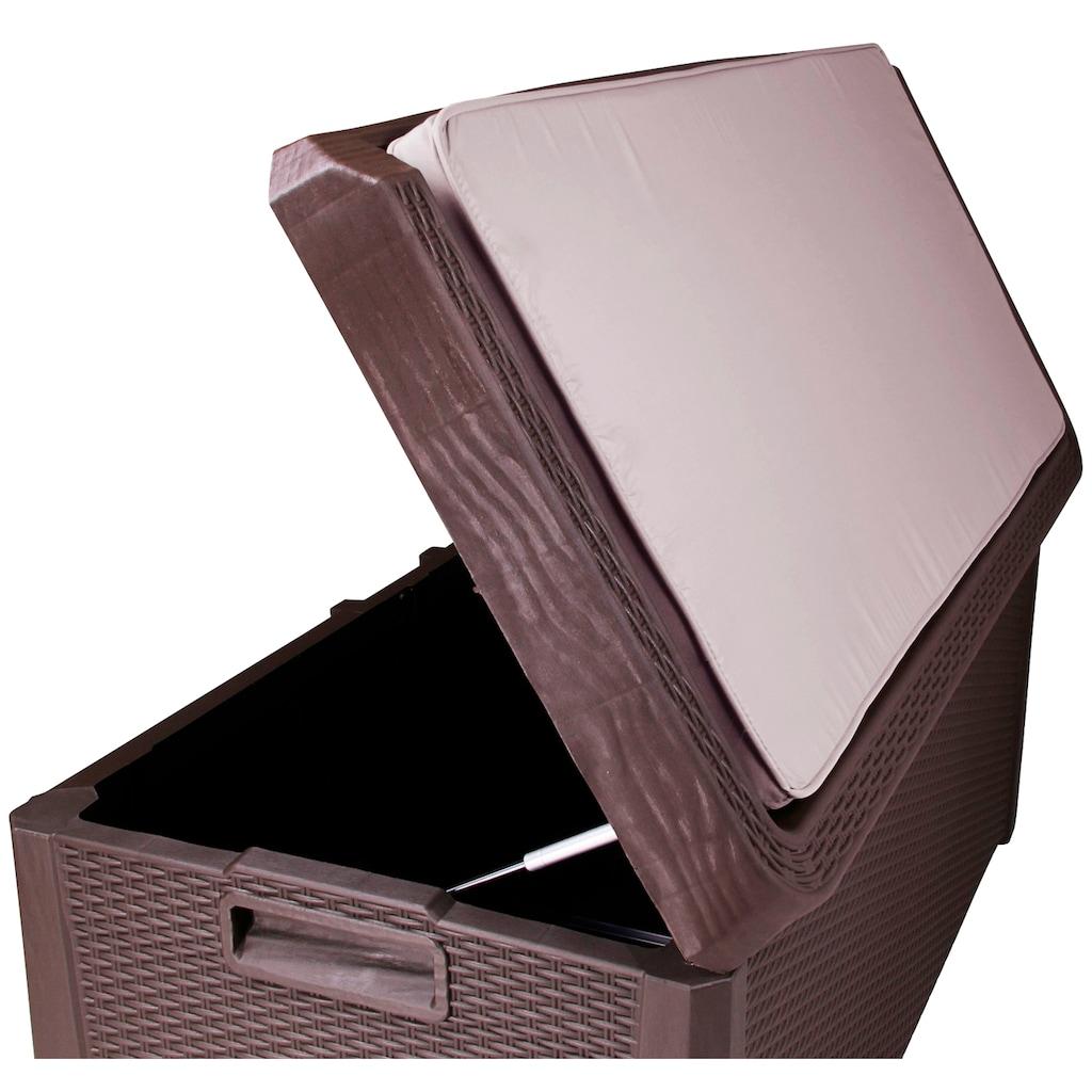 ONDIS24 Auflagenbox »Santo Plus«, 550 Liter, Kunststoff