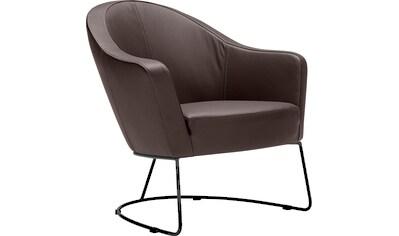 LOVI Loungesessel »Grape«, Metallrahmen grau, Sitzfläche in hochwertigem Formschaum... kaufen
