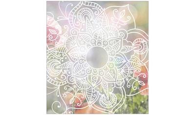MySpotti Fensterfolie »Look Zangtangel white«, halbtransparent, glattstatisch haftend,... kaufen