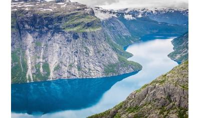 Papermoon Fototapete »Norwegian Fjord« kaufen