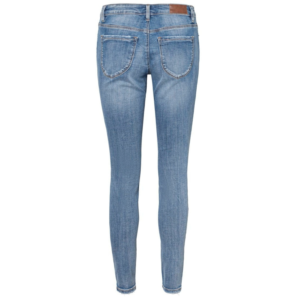 Vero Moda Skinny-fit-Jeans »VMLYDIA DESTROYED«
