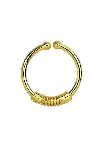 Adelia´s Nasenpiercing »Nasenpiercing Fake Ring Septum Klemmring gold«, Klemmring aus... kaufen