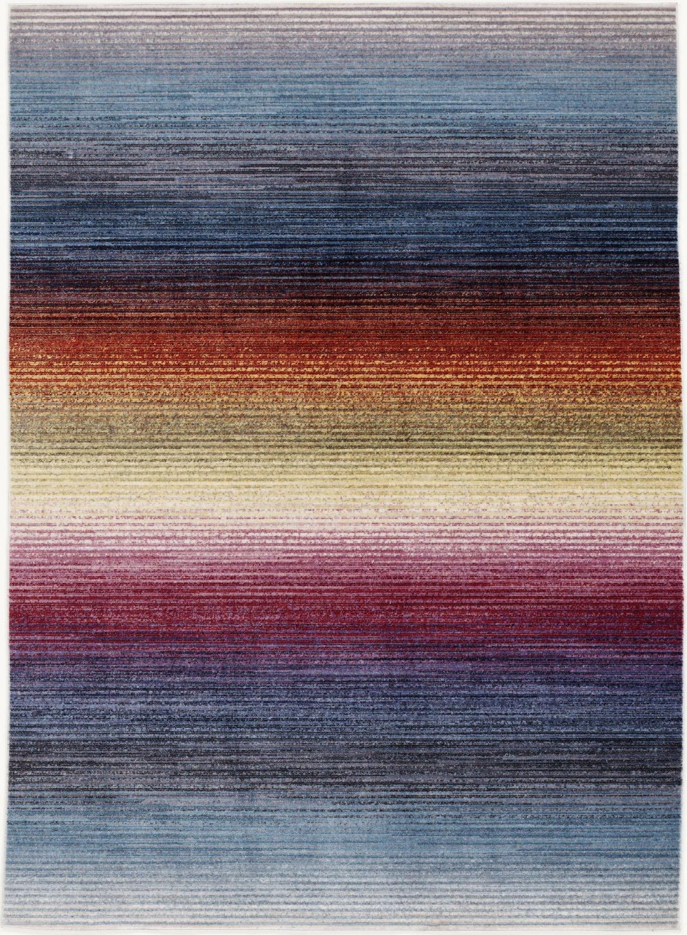 Teppich Rainbow Stripe OCI DIE TEPPICHMARKE rechteckig Höhe 5 mm maschinell gewebt
