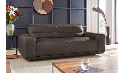 W.SCHILLIG 2,5-Sitzer »william«, Ledersofa, wahlweise mit Sitztiefenverstellung, Breite 206 cm kaufen